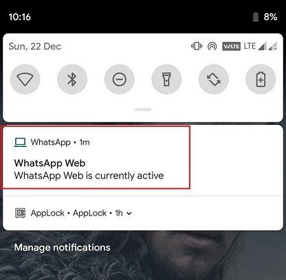 How to Know if Your WhatsApp isbeing used on other Devices