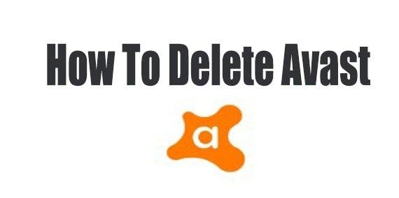 How to delete avast