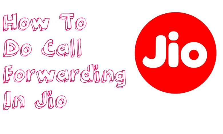 how to call forward in jio