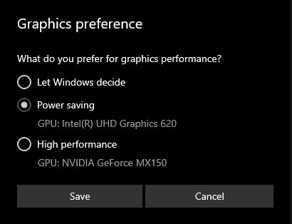 Fix OBS Studio Black Screen By Changing Graphics Settings